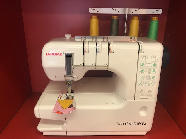 Janome CoverPro 1000CPX - 295 €