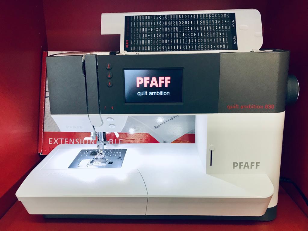 PFAFF quilt ambition 630  -  750 €